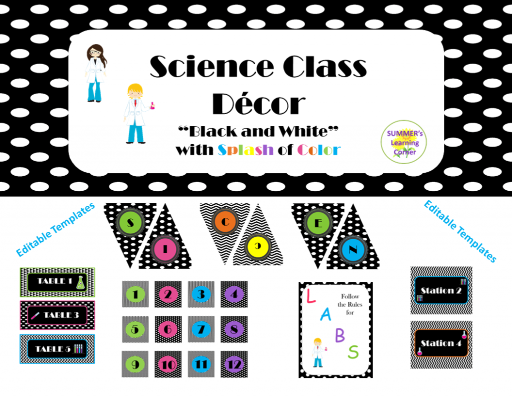 Science Class Decor Bundle