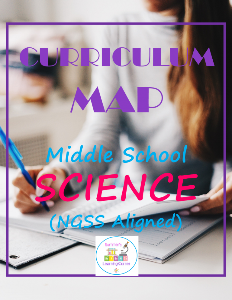 Middle School Science Curriculum Map