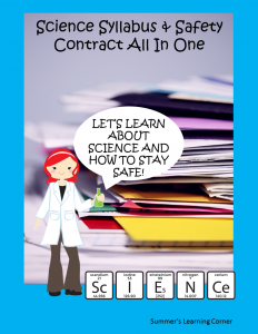 Science Syllabus & Safety Contract Made Simple!