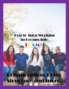 How to Turn Working in Group into TEAMS!