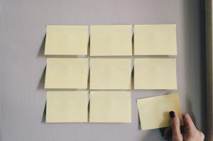 Sticky Note Planning