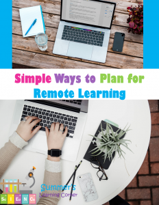 Simple Ways to Plan for Remote Learning
