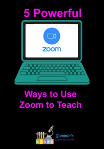 5 Powerful Ways to Use Zoom to Teach