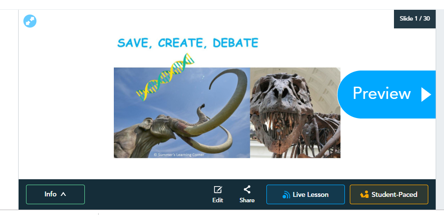 Save Create Debate