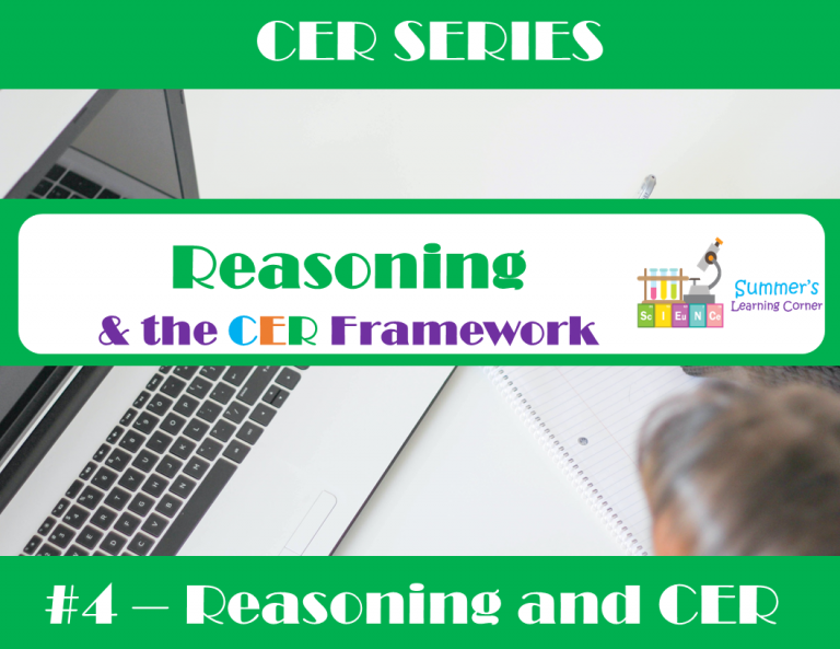 Reasoning and the CER Framework